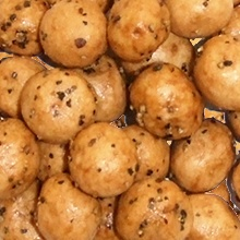 粗挽き黒胡椒豆